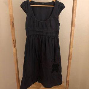 TOCCA brand navy linen dress size 4